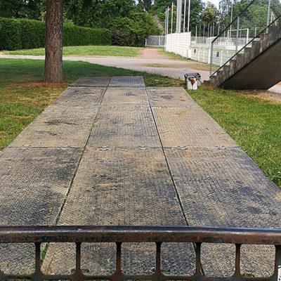 holtzheim - plaques de roulage